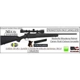 Carabine Mossberg Patriot Calibre 30-06 Répétition Pack  sanglier-complet-Lunette Lynx Unifrance -2.5x10x56-Réticule lumineux-Canon-FILETE-POUR-SILENCIEUX+ mallette -Promotion-745 € ttc au lieu de 1028.00 € ttc-Ref 31695-36394