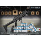 Pistolet Chiappa Pak 9  Calibre 9mm para  avec crosse AR 15 chargeur 10 coups-Catégorie B1-Autorisation-Préfecture-Promotion-Ref  PCKZE963-EA