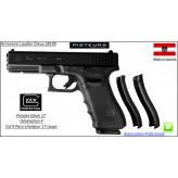 Pistolet Glock 17 génération 4 Calibre 9 Para-Semi automatique-Catégorie B1-Promotion-Avec-Autorisation-Préfectorale-Ref glock-17-4