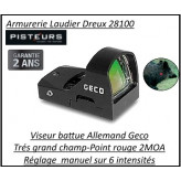Viseur GECO Open Red Dot Allemand-Promotion-Ref 34007bis-geco