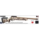 Carabine Ruger précision rimfire CAMO GO Wild répétition calibre 22 Lr-chargeur 10 coups -Promotion-Ref 32502193