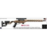 Carabine Ruger précision rimfire répétition calibre 22 Lr-chargeur 10 coups Finition BRONZE-Promotion-Ref 37802