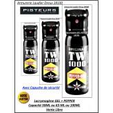 Bombes- lacrymogène-TW-1000-Poche-Pepper-gel-OC-Capacité-50 Ml-ou-63 Ml- ou-100 ML