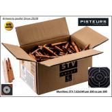 Cartouches STV 7.62x54R -Surplus-CIP-148 grains FMJ- Par 300 cartouches-Promotion-Ref 35566