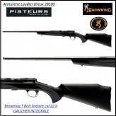 Carabine Browning T bolt sporter composite Gaucher intégrale threaded répétition calibre 22 Lr-chargeur 10 coups-Promotion-Ref 27965