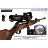 Carabine Rossler Titan 16 Calibre  30 06 Répétition LINEAIRE+ lunette Geco 1-5x24i  Canon fileté pour silencieux ou frein de bouche-Promotion-Ref rossler-titan-16-pack