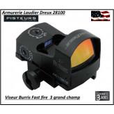 Viseur Burris Fastfire III Point rouge 3 MOA avec montage-Ref 51101277