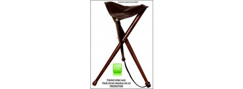 Siège-trépied-luxe- Hauteur 65 cm-Promotion-Ref 10751