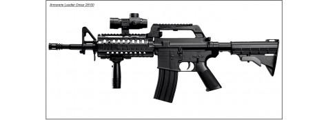 """Fusil mitrailleur- Colt -Modele 4  RIS COMMANDO- Billes Cal. 6 mm -""""Promotion"""".Ref 11201"""