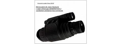 MONOCULAIRE  de vision nocturne.LN-EMG1 .Génération 2.Ref 11639
