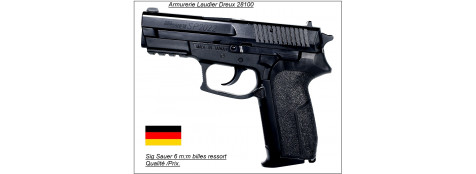 Pistolet Sig Sauer Sp 2022 Calibre 6mm à ressort-Cybergun-Promotion-Ref 12532
