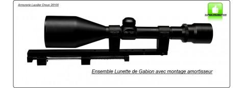Lunette-gabion-Hutte-Kit-RTI.9x63-Réticule-réglable-Ref 30229