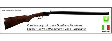 Carabine -Falco-Calibre 410 -Custom silence-silencieuse-Ref 14737