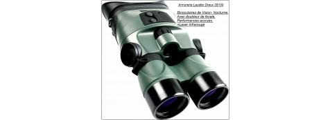 Jumelles binoculaires  de Vision Nocturne.Yukon.TRACKER RX 2 X 24 + NVB 3,5 X 40.Ref 16087