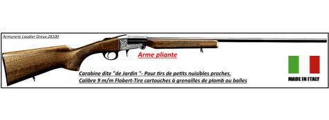 Carabine-jardin- Investarm-Modèle 70- Cal 9mm-Flobert- 1 coup- Crosse bois.Ref 18630