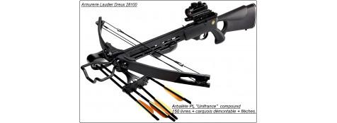 Arbalète-sniper-camo- poulies-PL-150 Livres -Promotion-Ref 18675