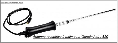 """Antenne réceptrice à main pour  repérage chien  Garmin Astro 320""""Promotion"""".Ref 18724"""