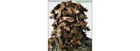 Cagoule-camouflage-Realtree-3 D-Ref 19518
