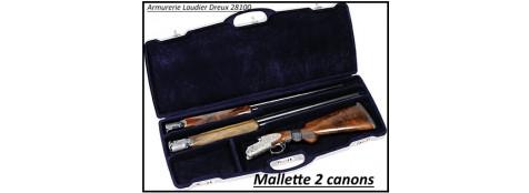 Mallette-fusils -pour-superposé-ou-juxtaposé -avec -2 canons-Ref 19905
