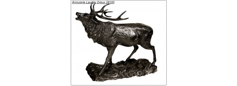 """Cerf en Bronze.""""Promotion""""-Ref 7074-CA00408"""