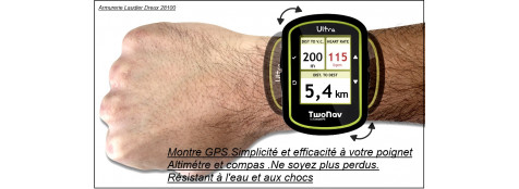 "Montre GPS Ultra Twonav-""PROMOTION"".Ref 20444"