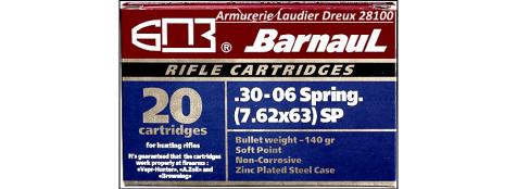 Cartouches-BARNAUL-30-06- Boite de 20-Ref 20704