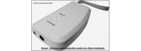 """DAZZER-appareil-défense-ULTRASONS- Num'axes- contre les chiens-""""Promotion""""-Ref 21397"""