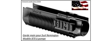 Garde main- polymère-trois rails picatinny-pour Remington pompe 870-Ref 22075