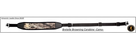 Bretelle-Browning- Carabine -Camo-Néoprène 6 mm-Ref 22742-27348