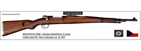 """Fusil-MAUSER-48-fabrication ZASTAVA - répétition-5 coups -Calibre 8x57IS -""""Promotion""""-Ref 22754"""