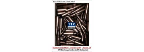 Cartouches STV scorpio 7.62x39 Surplus CIP  123 grains FMJ-7.97gr- Par 500 cartouches-Promotion-Ref 35036