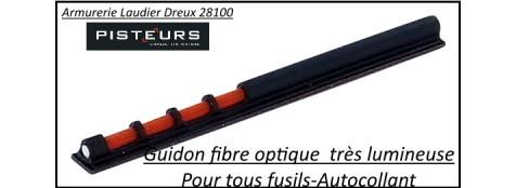 Guidons-Fusil-Ruby-fibre-optique-Lumineux-autocollant-Ref 28196