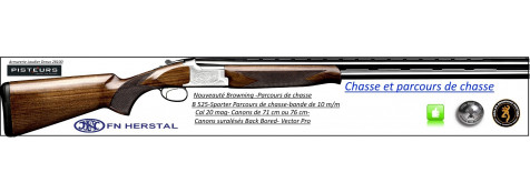 Superposé-Browning-B 525-Sporter-Parcours de chasse-Cal 20mag-Canons-76 cm-Promotion-Ref 32461