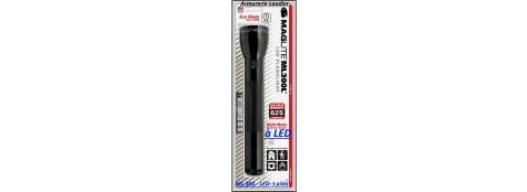 Lampes-MAGLITE-LED-ML 300-3 ième génération-Noires-2 piles ou 3 piles-Promotion