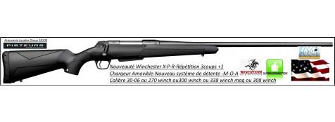 "Carabine -Winchester-XPR-Répétition-crosse polymère-chargeur amovible-calibre 30-06-ou-300 winch mag-ou- 270 winch-ou-308 winch-ou- 338 winch-canons filetés- ou - non filetés""Promotions"""
