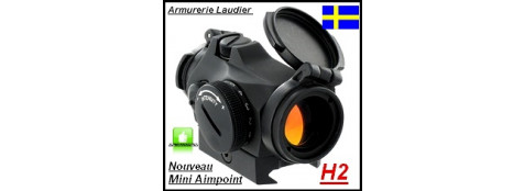 """Viseur Aimpoint Micro H2 Point rouge mini-NOUVEAUTE-""""Promotion""""-DISPONIBLE-Ref 24078"""