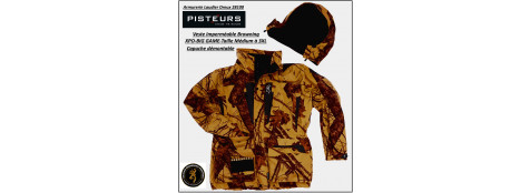 Vestes-BROWNING-XPO-Big-game-camouflées-orange-Membrane-imperméable-silencieuse-TRES-CHAUDE-Tailles S- M-L-XL-XXL-XXXL