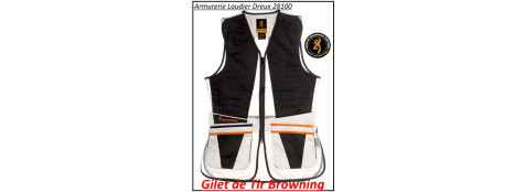 Gilets de tir-Browning-Ultra-Ambidextre-Tailles: S-M-L-XXL-XXXL