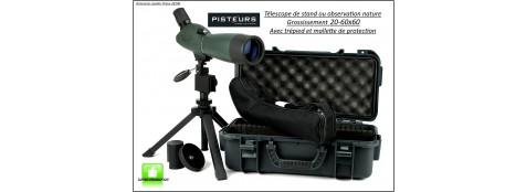 Télescope-Hawke- Grossissement 20-60x60 m/m-Promotion-Ref 35136