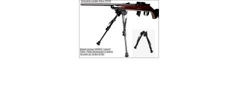 Bipied- Harris- télescopique pour toutes armes longues-Promotion-Ref 2560