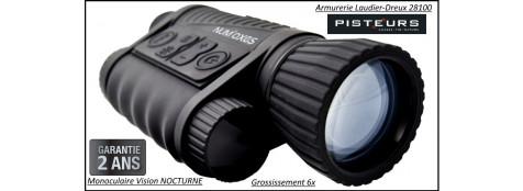 Monoculaire Vision Nocturne Num'Axes 6x50 Vis 1012 géneration1 -Ref 27570