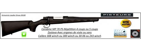 Carabine-Zastava-MP 70 PS-Calibre-308 winch -Répétition-sans organe de visée-Promotion-Ref 27860
