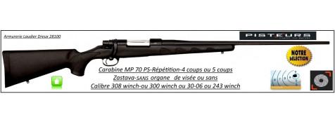 Carabine-Zastava-MP 70 PS-Calibre-30-06-Répétition-sans organe de visée-Promotion-Ref 27859