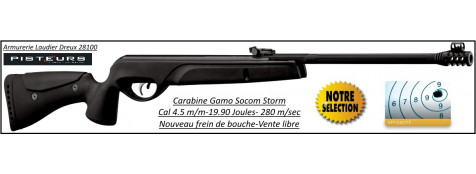 "Carabine-GAMO-SOCOM-STORM-Air comprimé-Cal 4.5mm -19,90 joules -""Promotion"".Ref 28356"
