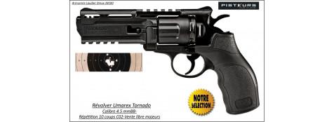 Révolver Umarex Tornado Calibre 4,5mm BB C02- 10 coups -Ref 29073