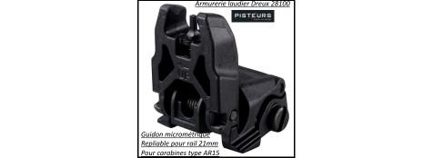 Guidon-ou Hausse-micrométrique-Magpul-MBUS-pour AR15-M4-Ref 29414-29413