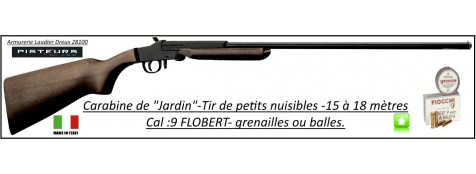 Carabine-Calibre 9 m/m-Flobert- jardin -Little Badger-un coup-Pliante-Ref 29439
