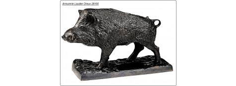 Petit Sanglier en Bronze.Ref 7077-CA00406