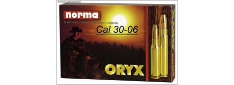 30-06- CARTOUCHES GRANDE CHASSE NORMA- ORYX ou PPDC (Boites de 20)