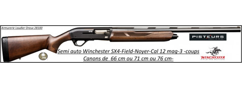 Fusil semi automatique Winchester SX4 Field Calibre 12 magnum Crosse noyer Canons de 71 ou 76 cm-Chokes inter-Billes acier-Promotion